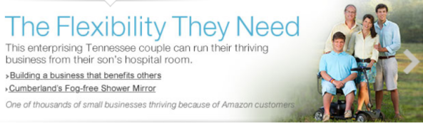 The Story of a Family Empowered by Amazon